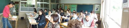 「武生高校同窓会関西支部女性の会:大人の林間学校」_c0108460_2228846.jpg