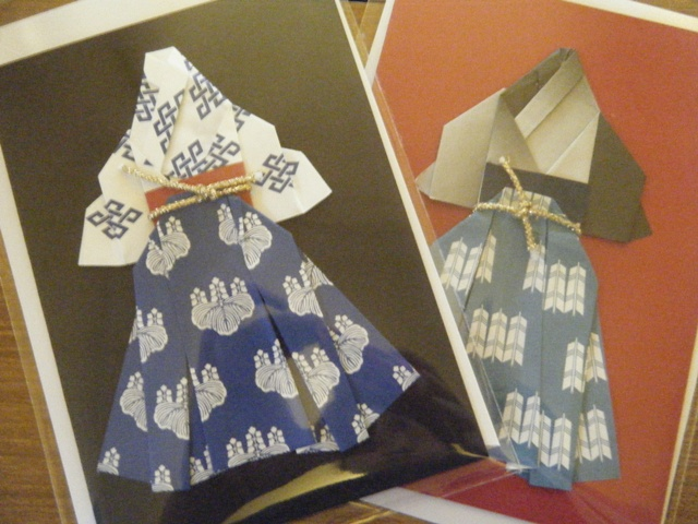 ハート 折り紙:折り紙 はかま-japanwales.exblog.jp