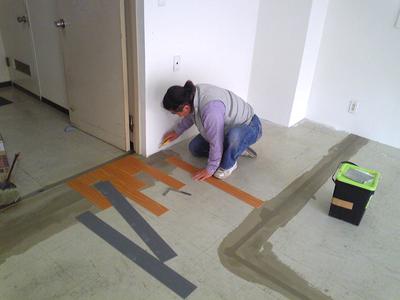 床貼り_f0077493_8394329.jpg