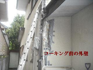 外壁コーキングと浴室タイル修理_f0031037_21583656.jpg