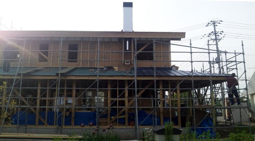 K様邸「船場町の家」 施工中_f0150893_17482674.jpg