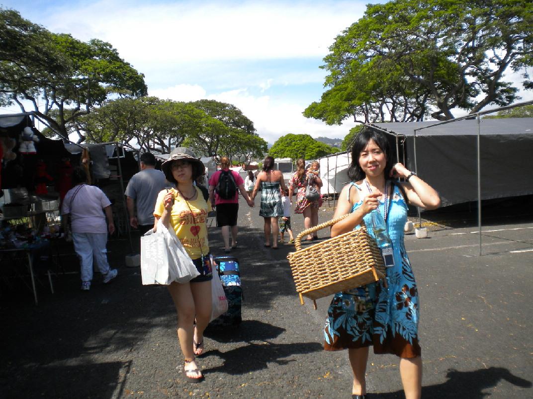 2011 1泊3日HAWAII旅行記~アロハスタジアムスワップミート~_f0011498_1150651.jpg