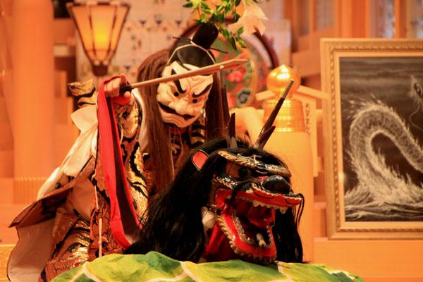 貴船神社 貴船祭りの神楽2_e0048413_2001836.jpg