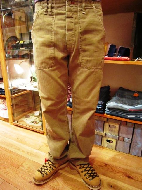 "ANACHRONORM \""Random Herringbone Baker Pants\"" 待望入荷!_f0191324_98056.jpg"