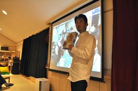 飯塚達央さんによる被災地支援報告会に参加してきました_b0187229_14513411.jpg