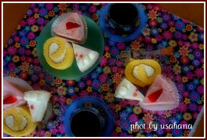 2タイプのレアチーズケーキ*_f0193555_6395065.jpg