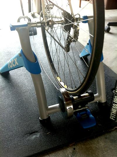 My bicycle 「宝の持ち腐れ」 Useless treasure!_e0203309_22584384.jpg