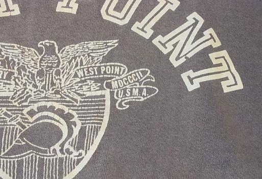 6月4日(土)入荷商品!WEST POINT 米軍士官学校 半袖スエット_c0144020_14381788.jpg