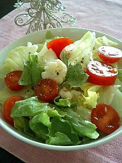 畑の野菜サラダ_e0159969_16583787.jpg