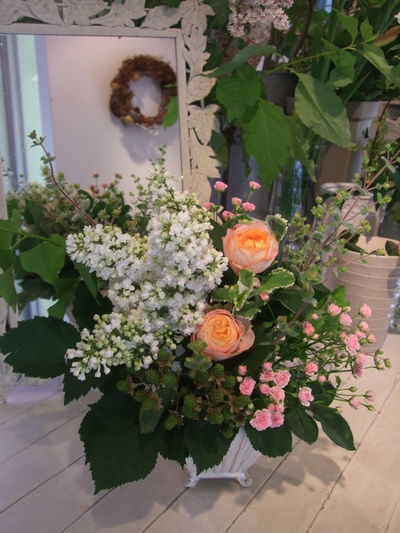 オークリーフ花の教室(ライラックのお教室❀)_f0049672_1962237.jpg