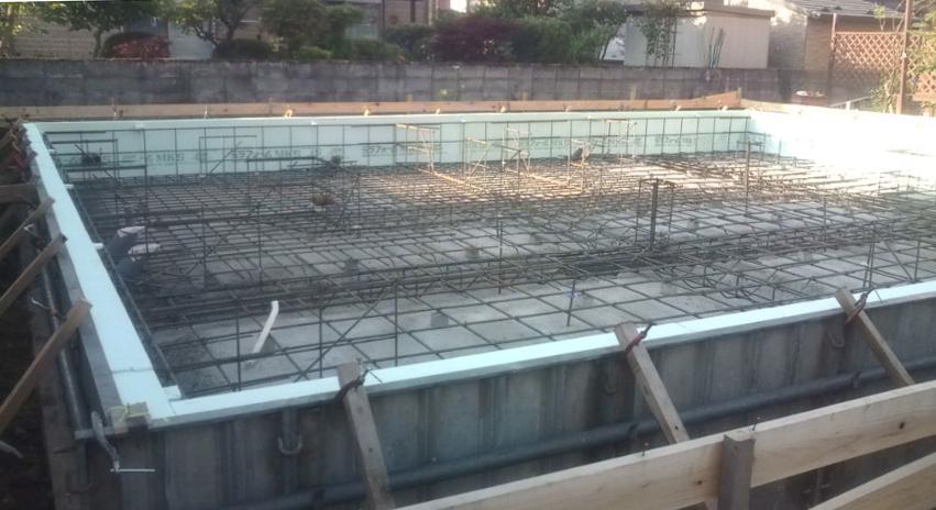 S様邸「広面川崎の家」 基礎工事中_f0150893_200216.jpg