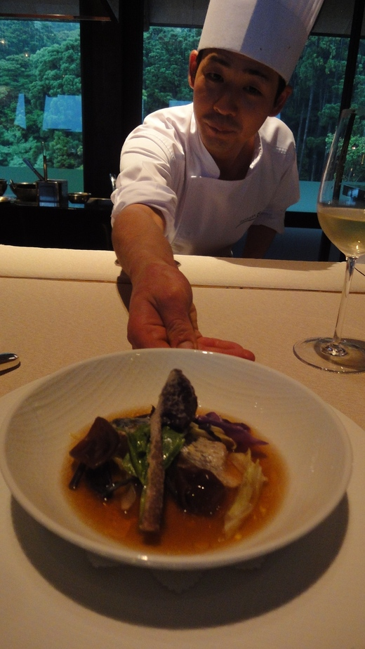 サンカラ ホテル&スパ 屋久島 (4) レストラン編 2日目_f0215324_1182337.jpg