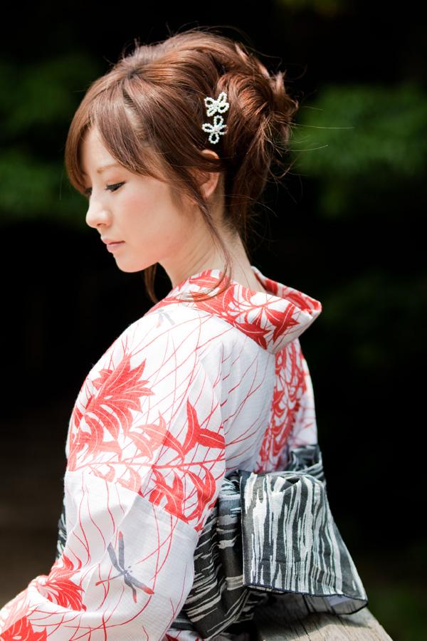 浴衣 髪型 ロング Gojasu Utsukushidesu