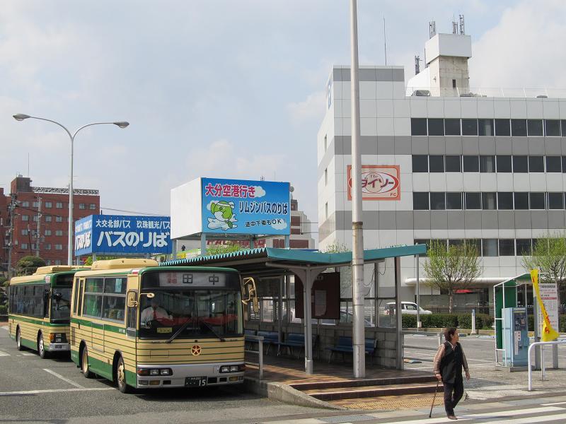 中津駅・(大分県中津市) : ウエスタンビュー ★九州の路線バス ...