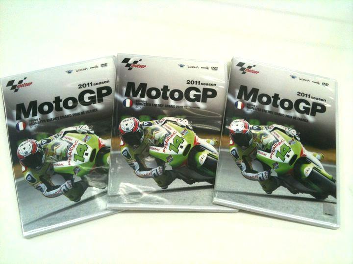 【入荷情報】MotoGP2011 第四戦のDVD_b0163075_824618.jpg