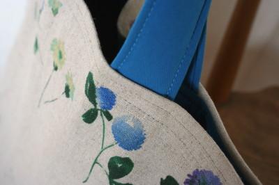 ブルーの花もようのバッグ_a0102486_11285125.jpg