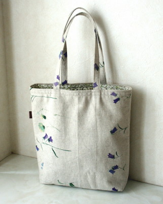 ブルーの花もようのバッグ_a0102486_11351511.jpg