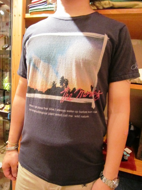 "melple ""char the morning ベーシックTee\"" 入荷!_f0191324_11131976.jpg"