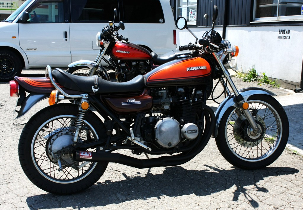 Z750rs Spread Motorcycle