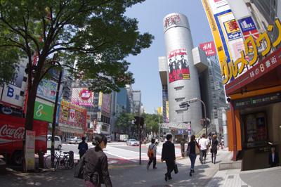 6月6日(月)今日の渋谷109前交差点_b0056983_11243494.jpg