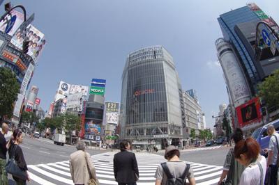 6月6日(月)今日の渋谷109前交差点_b0056983_11352066.jpg