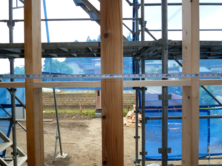 Y様邸「峰吉川の家」 工事中です。_f0150893_19315752.jpg