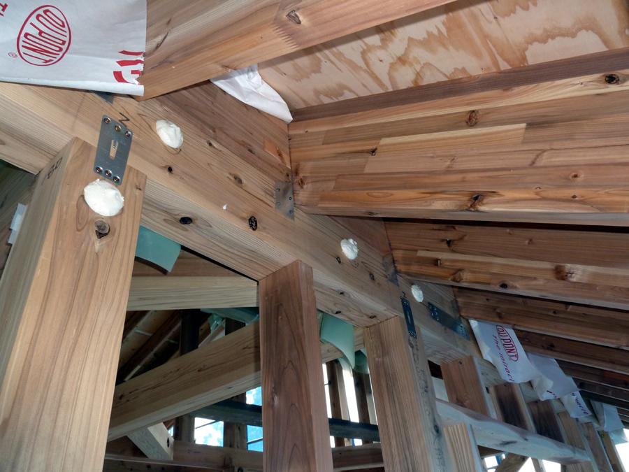 Y様邸「峰吉川の家」 工事中です。_f0150893_1935115.jpg