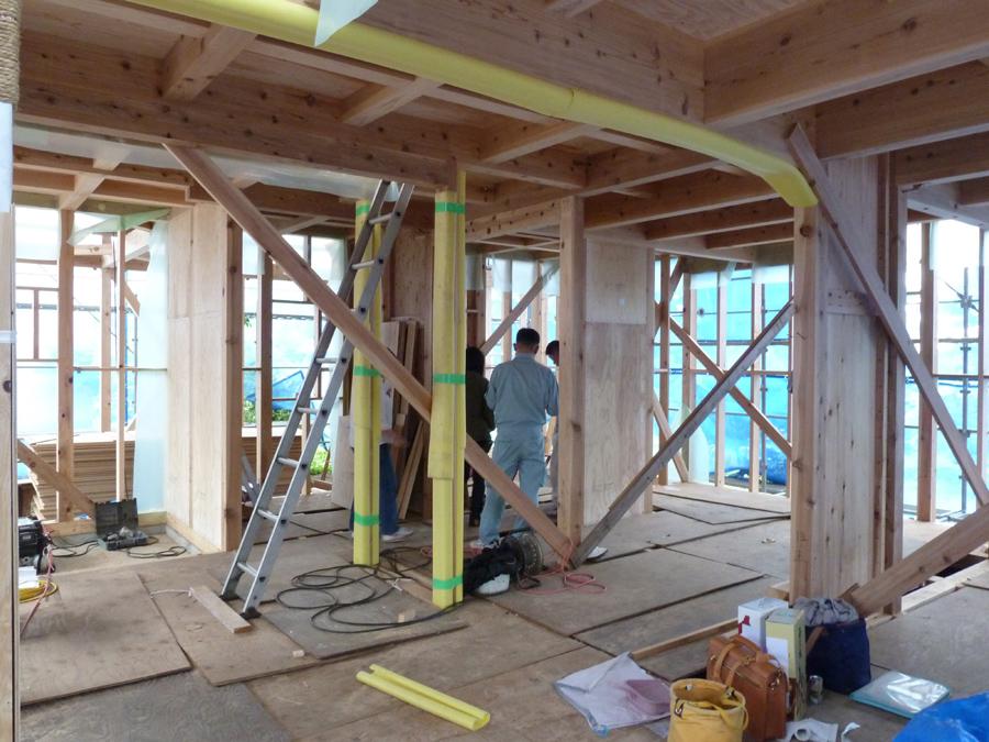 Y様邸「峰吉川の家」 工事中です。_f0150893_1949531.jpg
