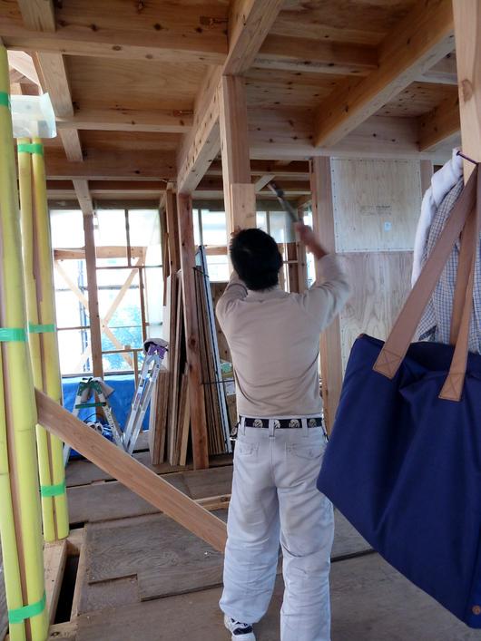 Y様邸「峰吉川の家」 工事中です。_f0150893_2012467.jpg