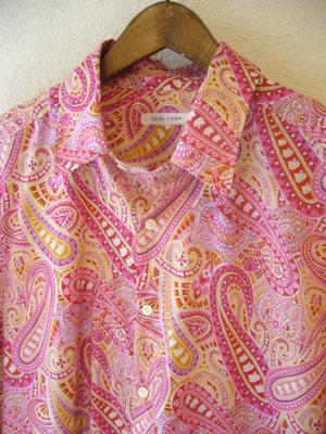 リバティ×ハローキティのシカオ/メンズシャツ (セミオーダー)_b0199696_12241056.jpg