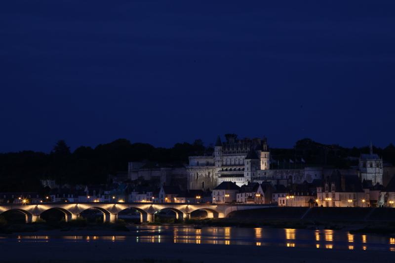 アンボワーズ城の夜景_c0187779_6444920.jpg