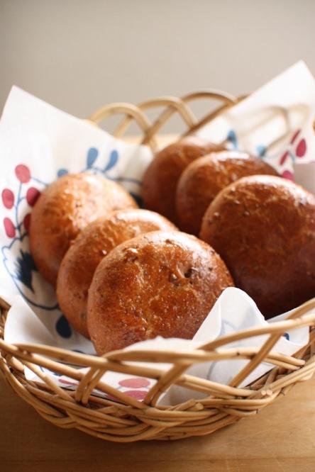 先日作ったパンと明日のコーデ予習♪_b0166589_20252584.jpg