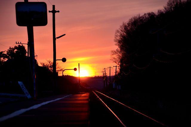 ある日の夕焼け☆  _e0223998_2220235.jpg