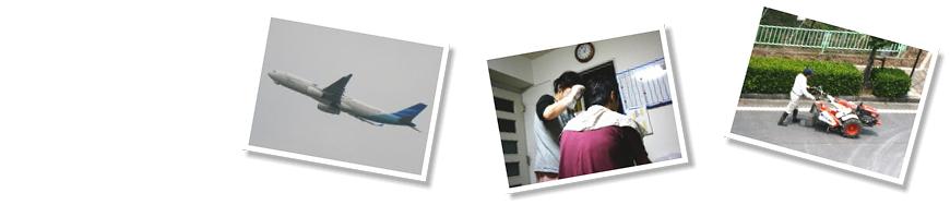 ガルーダ・インドネシア航空、旦那の毛染め、赤い耕運機