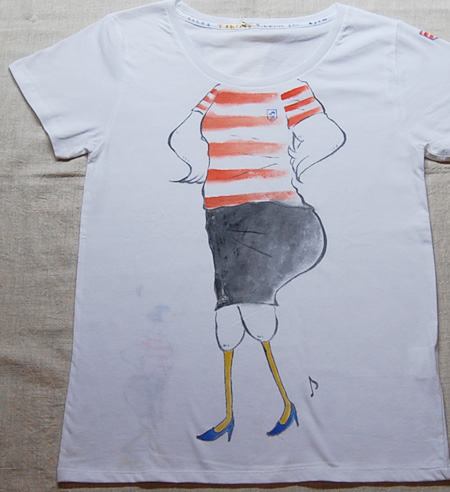 Tシャツ展 作品紹介その⑥_a0043747_17111143.jpg