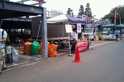MOTTAINAIフリーマーケット開催報告@大井競馬場/秋葉原UDX_e0105047_1575313.jpg