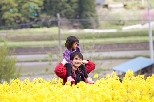 田植え体験&菜の花巡りツアー_b0147354_19412427.jpg
