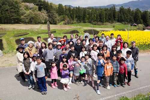 田植え体験&菜の花巡りツアー_b0147354_20531489.jpg