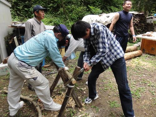 岬高校1年生「山海人プロジェクト」サポート in 孝子の森_c0108460_18294740.jpg