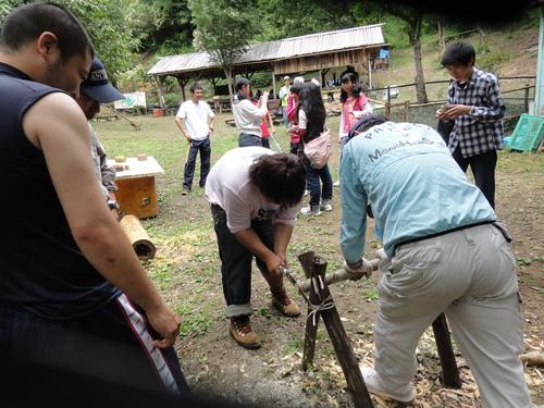 岬高校1年生「山海人プロジェクト」サポート in 孝子の森_c0108460_18311444.jpg