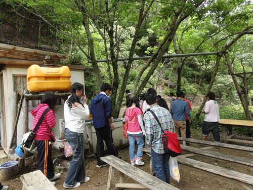 岬高校1年生「山海人プロジェクト」サポート in 孝子の森_c0108460_1832976.jpg