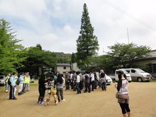 岬高校1年生「山海人プロジェクト」サポート in 孝子の森_c0108460_1882994.jpg