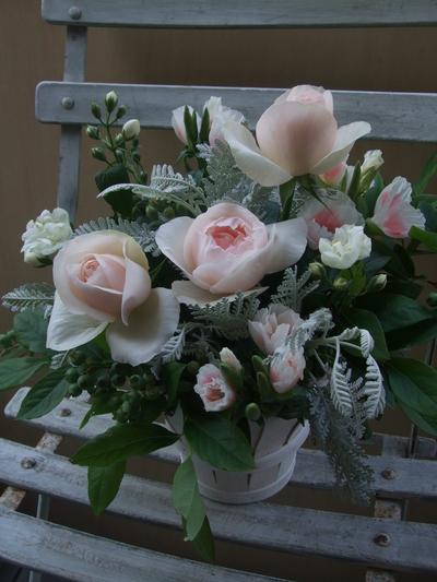 オークリーフ(淡いピンクの花)_f0049672_16113236.jpg