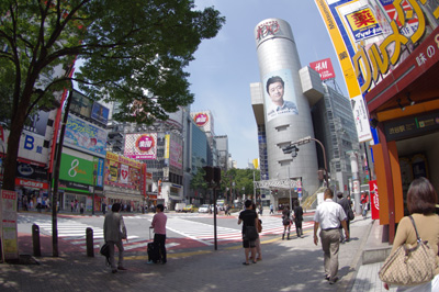 6月9日(木)今日の渋谷109前交差点_b0056983_14541983.jpg