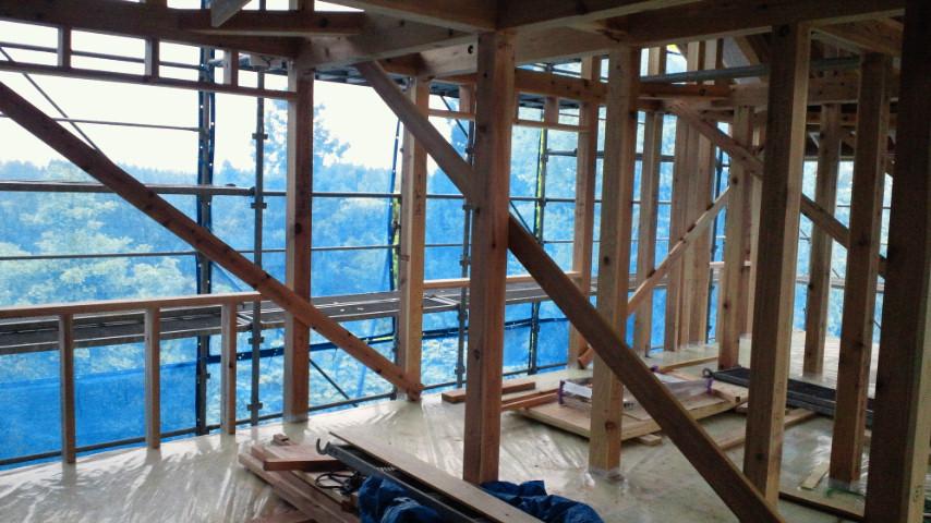 Y様邸「峰吉川の家」 工事中です。_f0150893_196324.jpg