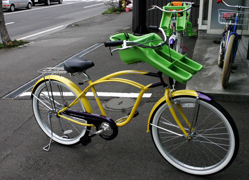 チャイルドシート付き自転車 ...