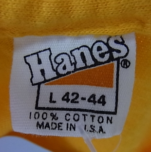 6/11(土)入荷商品!70'S HANES 染込みプリント ピラミッドT。_c0144020_1585832.jpg
