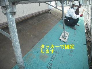 震災被害による屋根工事4日目_f0031037_2036414.jpg