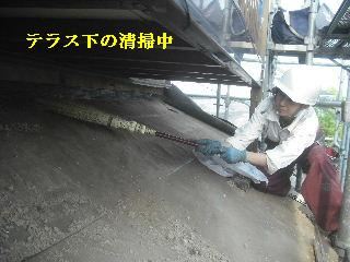 震災被害による屋根工事4日目_f0031037_20372667.jpg