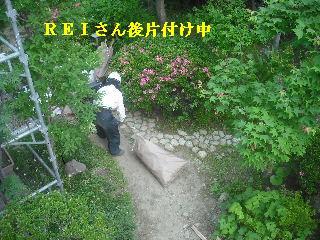 震災被害による屋根工事4日目_f0031037_20374751.jpg